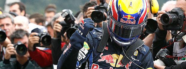 Webber comemora pole na Bélgica