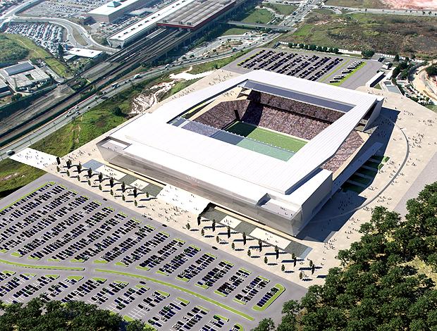 Maquete Estádio Corinthians