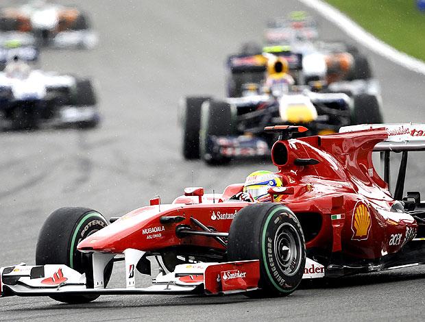 Massa no GP da Bélgica