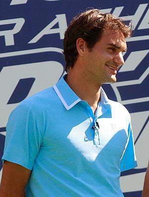 Roger Federer US Open kids day tênis