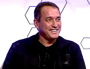FRAME PC Gusmão durante programa Bem Amigos (Foto: Reprodução / Sportv)
