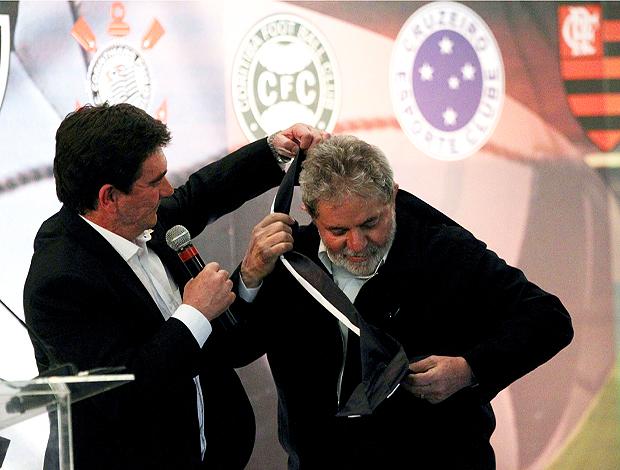Andres Sanchez e Lula