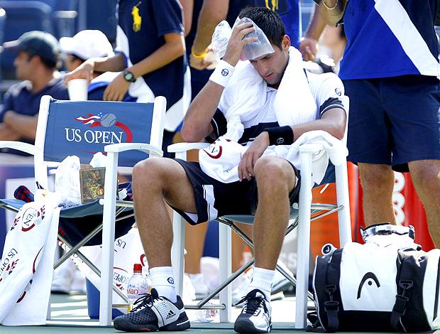 Novak Djokovic tênis US Open 1r