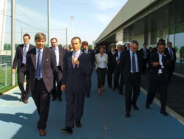 visita do comitê da FIFA ao Real Madrid