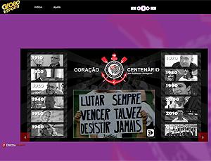 MultiDOC 'Coração Centenário': o Timão em textos, vídeos e fotos (Reprodução)