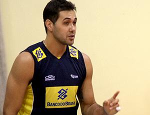 João Paulo Bravo da seleção brasileira de vôlei