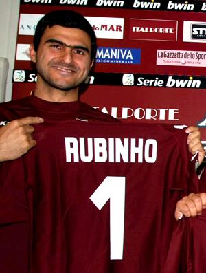 Rubinho, goleiro no Torino (Foto: Divulgação)