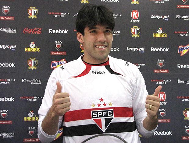Ilsinho apresentado no São Paulo