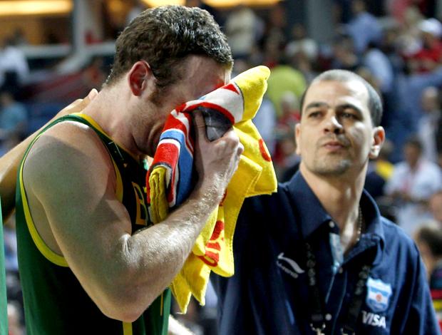 Marcelinho Huertas choro Mundial de Basquete