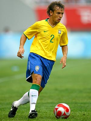 Rafinha, na seleção. Brasil 2008