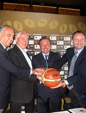 Espanha e Fiba firmam acordo para mundial de 2014