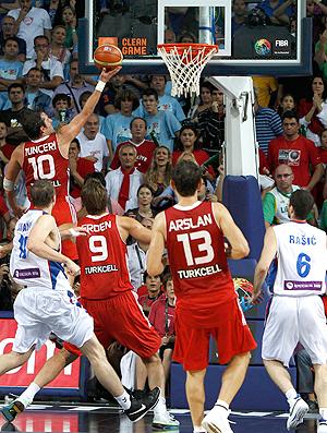 Tunceri Mundial de basquete Turquia