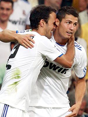 Ricardo Carvalho Cristiano Ronaldo Real Madrid