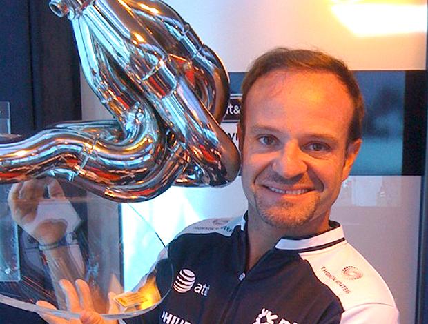 Rubens Barrichello Troféu Twitter