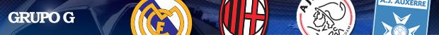 header Liga dos Campeões Grupo G
