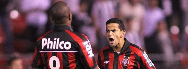 Bruno Mineiro gol atlético-PR