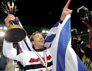 Lugano comemora título pelo São Paulo 2005