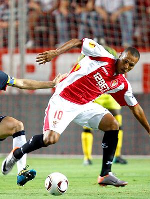 Luis Fabiano, jogando pelo Sevilla