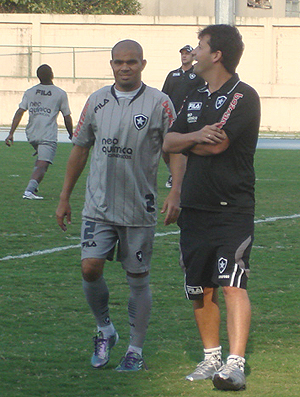 Alessandro treino Botafogo
