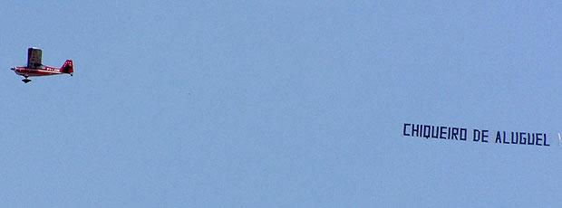 avião colorado provocação torcida Grêmio