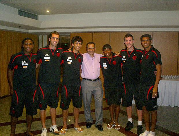 Pastor Fernando jogadores Flamengo