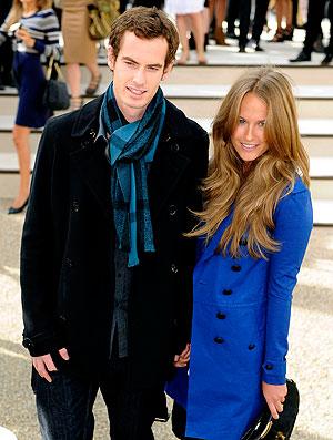 Andy Murray namorada London Fashion Week