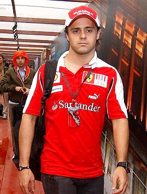Massa chegada GP Cingapura