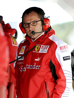 Domenicali dirigente Ferrari (Foto: AFP)