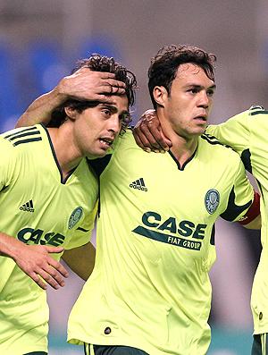 Valdivia Kleber Marcio Araujo gol Palmeiras