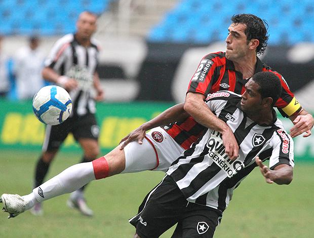 Botafogo x Atlético-PR Jobson