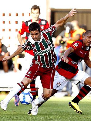 Deco na partida do Fluminense contra o Vitória