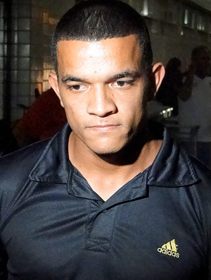 Jheimy, atacante do Atlético-MG (Foto: Marco Antônio Astoni / Globoesporte.com)