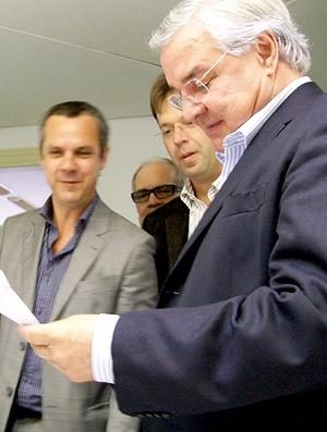 Paulo Odone, candidato à presidência do Grêmio