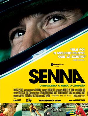 produtora lança cartaz para o Brasil do novo documentário 'Senna'