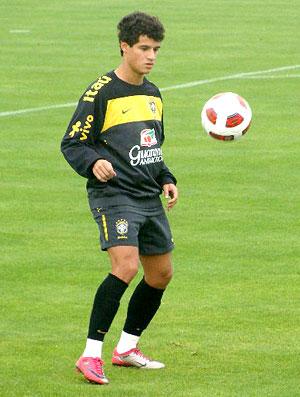 Seleção brasileira - Philippe Coutinho (Foto: Márcio Iannacca / Globoesporte.com)