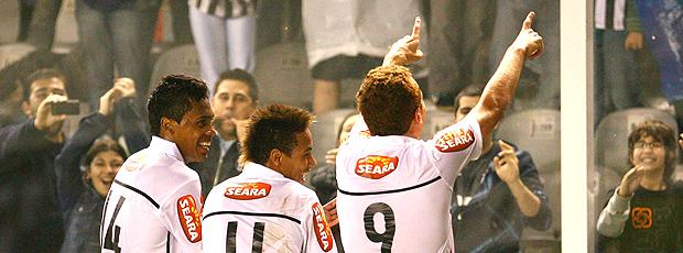 Ze Eduardo gol Santos