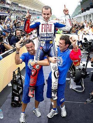 MotoGP - Jorge Lorenzo comemora