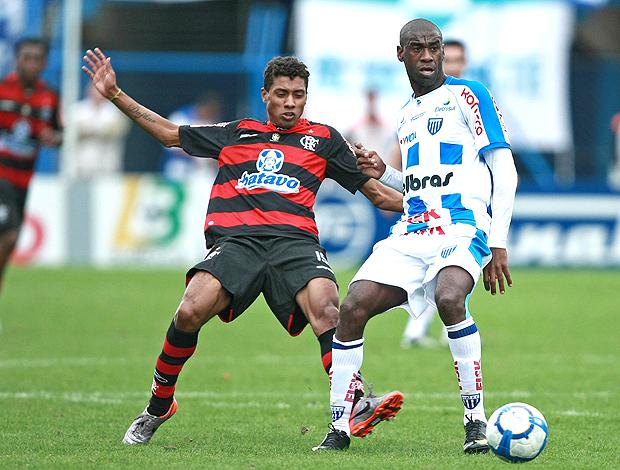 Kleberson Rudinei Avaí x Flamengo