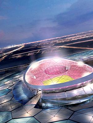 Lusail Iconic Stadium no Qatar