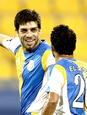 juninho pernambucano Al-Gharafa gol Al-Rayyan (Foto: agência Reuters)
