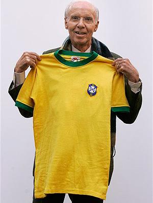 zagallo camisa do brasil
