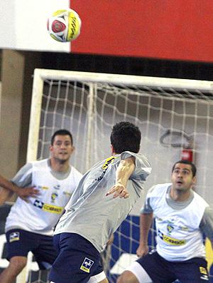 treino da Seleção Brasileira de futsal