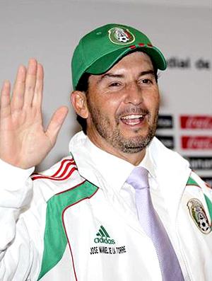 José Manuel de la Torre é o novo técnico da seleção mexicana - 18/10/10 (Foto: Reuters)