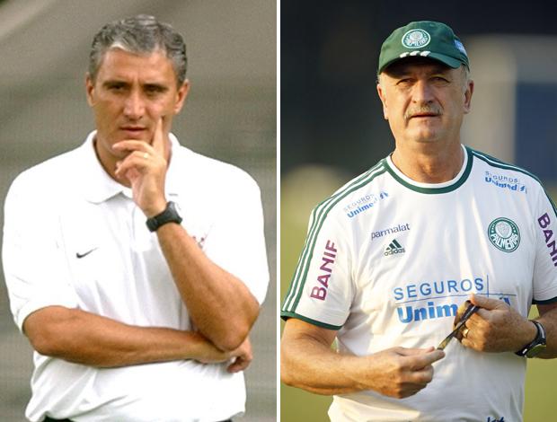 Tite Scolari Corinthians x Palmeiras
