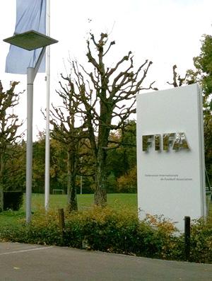 Entrada da sede da Fifa em Zurique (Foto: Bianca Rothier / TV Globo)