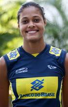 vôlei - perfil jogadoras seleção brasileira adenizia