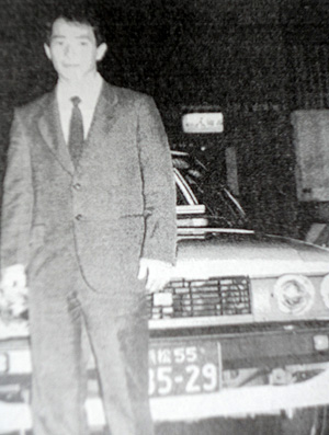 Mundial Feminino de Vôlei - Mestre Tetsuyoshi quando era taxista