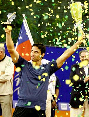 tenis marcos daniel comemoração copa petrobras (Foto: Divulgação / Copa Petrobras)
