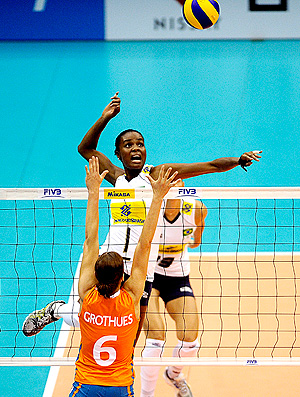 Mundial de vôlei Fabiana Brasil x Holanda