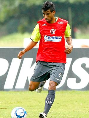 Treino do Flamengo - Leo Moura